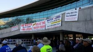 Water Rally Signs
