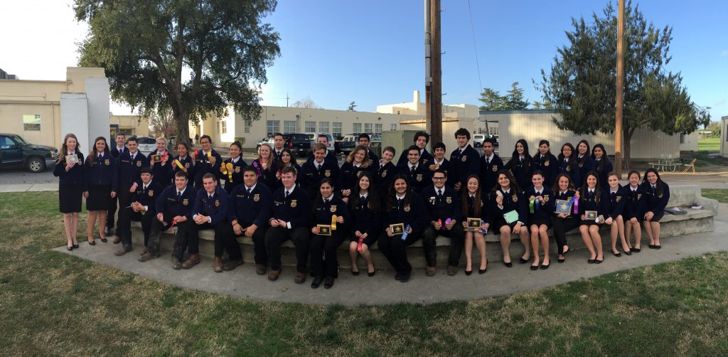 Over forty Atwater High School agriculture students joined over 1400 other registered high school students from northern and central California for the Arbuckle FFA Field Day where students competed in a variety of skill application contests related to the agriculture industry.