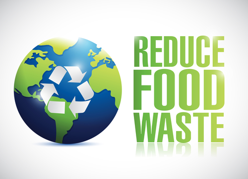 reduce food waste sign