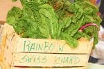 Rainbow Swiss Chard For Sale In Basket-shade