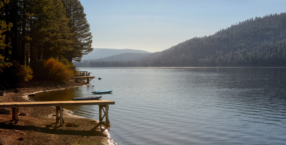 Donner Lake water