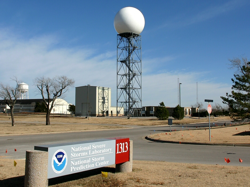 NEXRAD Radar at the WSR-88D Radar Operations Center