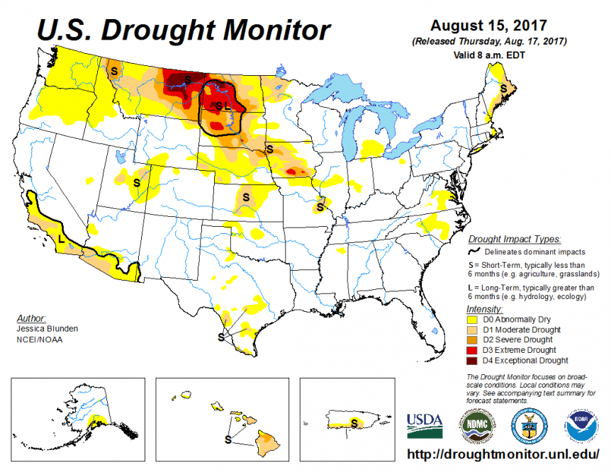 new drought monitor