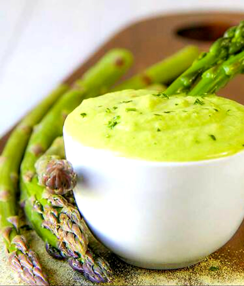 Asparagus Bacon Puree
