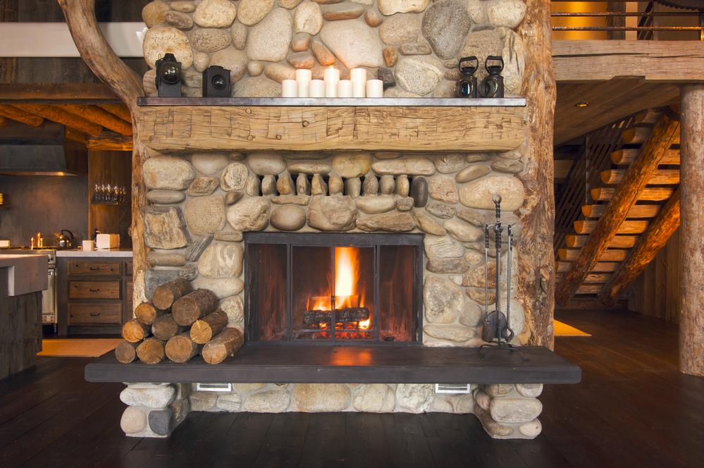 fireplace wood ashes