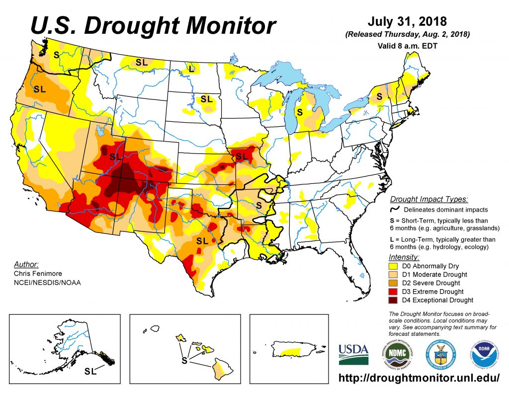 Drought Monitor Shows Continued Dryness   AgNet West