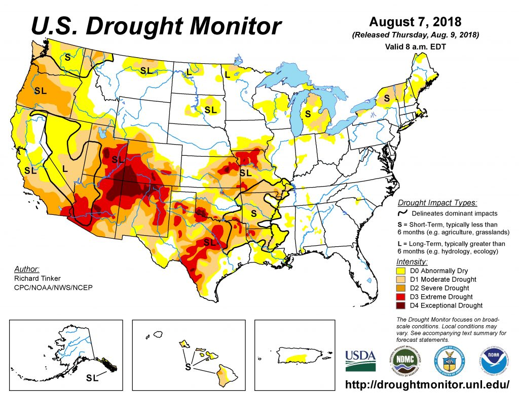 Weekly Drought Monitor Update | AgNet West