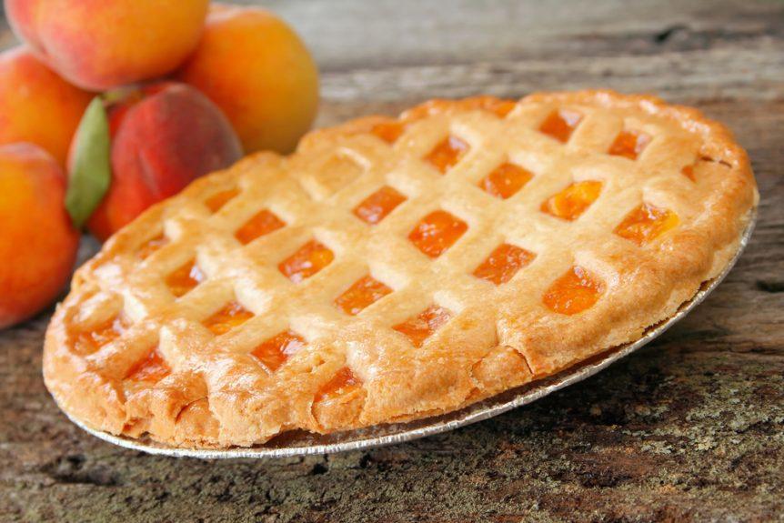 Celebrating National Peach Pie Day