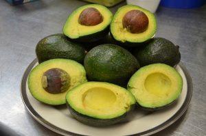 Washing Avocados
