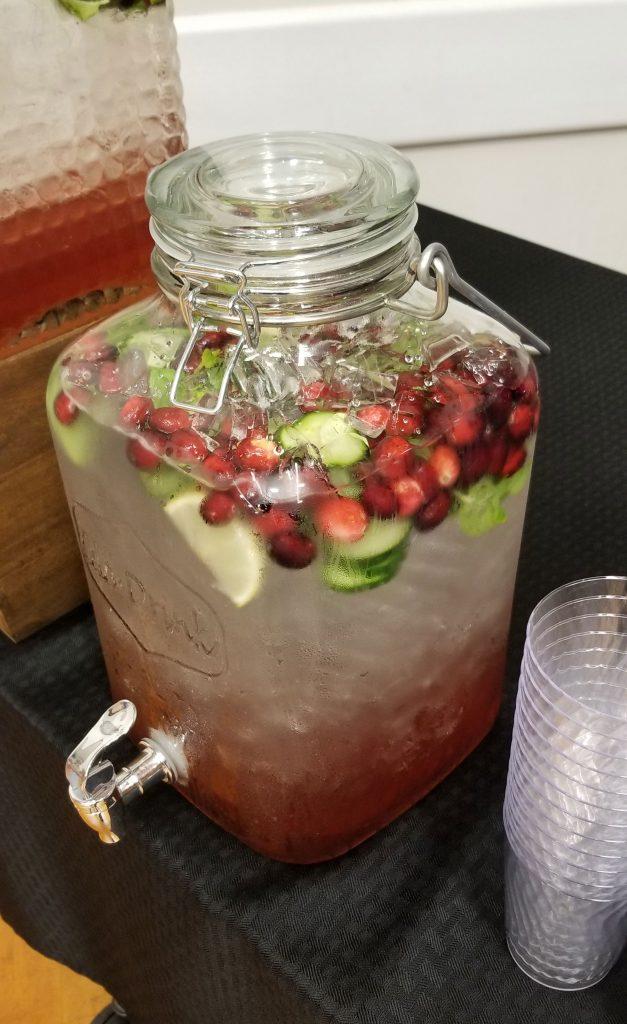 cranberry cucumber